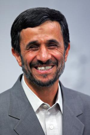 AHMADINEJAD SMILING 2