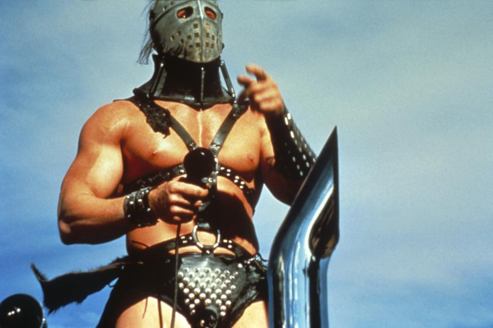 THE ROAD WARRIOR (aka MAD MAX 2: THE ROAD WARRIOR), Kjell Nilsson as 'The Humungus', 1981, ©Warner Bros. Pictures